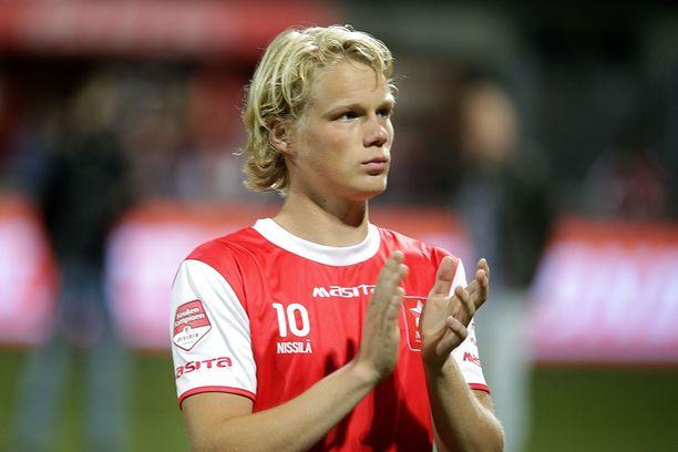 Urho Nissilä pelasi viime kauden lainalla Hollannin kakkostasolla.