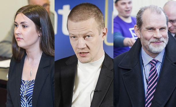 Tiina Elovaara, Matias Turkkila ja Jukka Jusula saapuvat tänään Sensuroimaton Päivärinta -studioon.