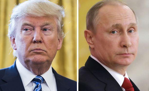 Donald Trump ja Vladimir Putin tapaavat Helsingissä 16. heinäkuuta.