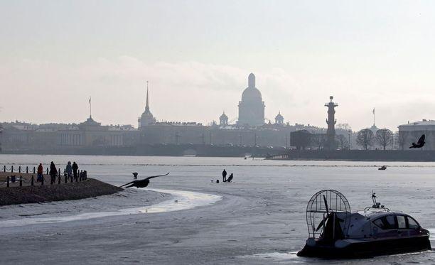 Kuva Pietarista maaliskuussa 2017.