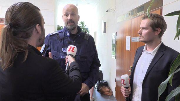 Itä-Uudenmaan poliisin valvonta- ja hälytystoiminnan johtaja Jussi Huhtela Iltalehden haastattelussa.
