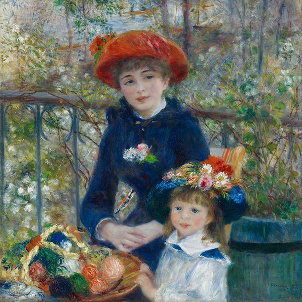Aito Renoirin maalaus on ollut chicagolaisessa museossa vuodesta 1933.