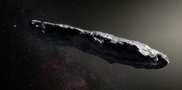 Noin 400 metriä pitkän Oumuamuan arvioidaan kulkeneen Linnunradan poikki jo satojen miljoonien vuosien ajan.
