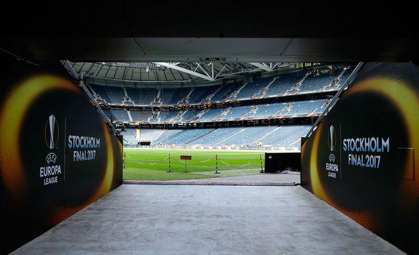 Eurooppa-liigan finaali pelataan huomenna Tukholmassa.