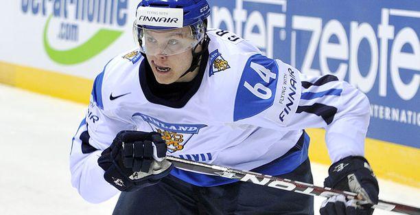 Mikael Granlund oli tärkeä lenkki Suomen pelissä.