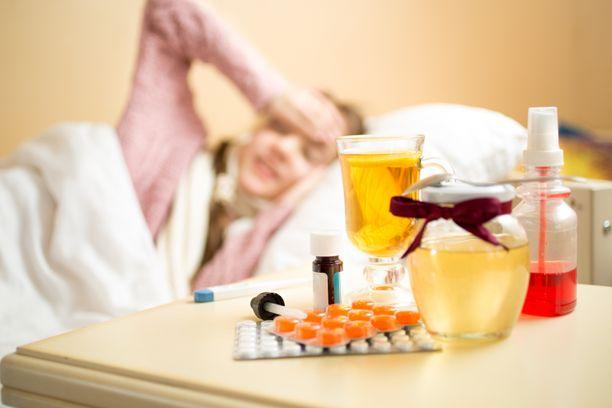Virukseen kannattaa varautua kuumetta alentavilla kipulääkkeillä.