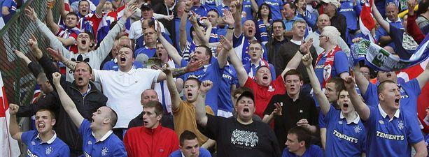 Glasgow Rangers on yksi maailman kannatetuimmista jalkapallojoukkueista.