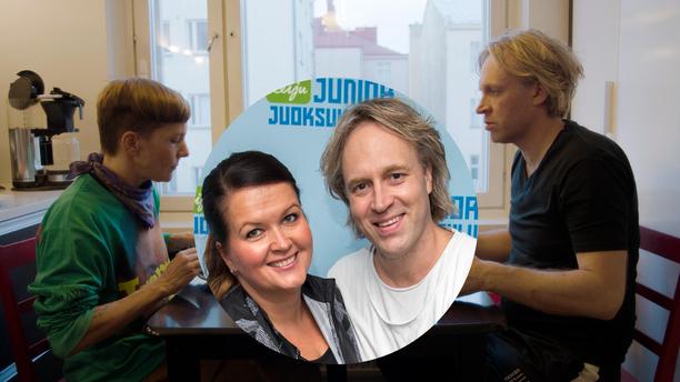 Henrikka Aihinen on paljon Maria Veitolan ja Kape Aihisen puheissa läsnä illan jaksossa.