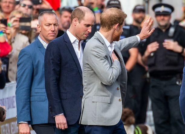 Harryn mukana oli myös prinssi William.