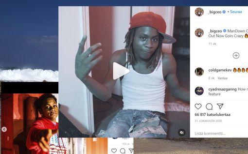 Rap-artisti Baby Ceo, 20, on kuollut