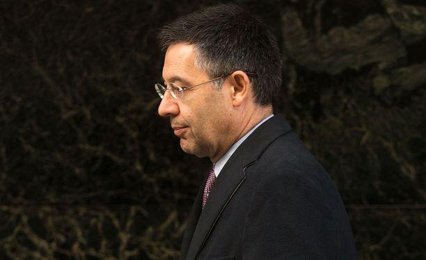 Josep Maria Bartomeua uhkaa vankeus.