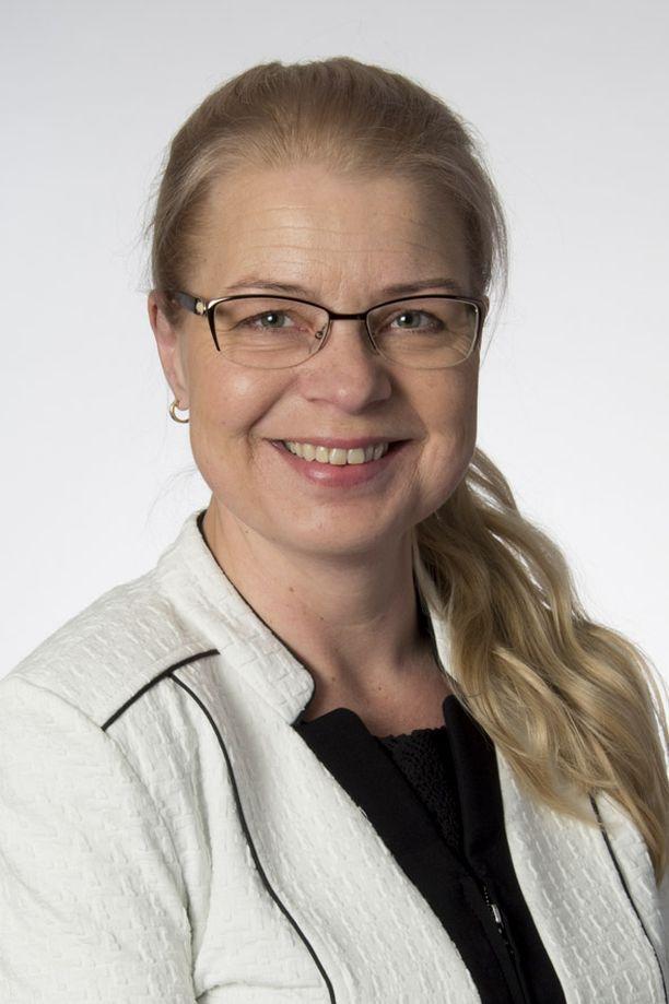 Leena Meri toimii perussuomalaisten eduskuntaryhmän puheenjohtajana.
