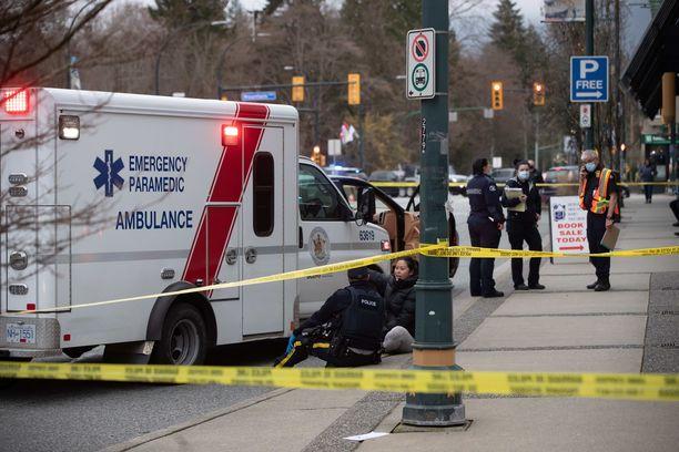 Pohjois-Vancouverissa tapahtuneen veitsihyökkäyksen motiivi ei ole selvillä.