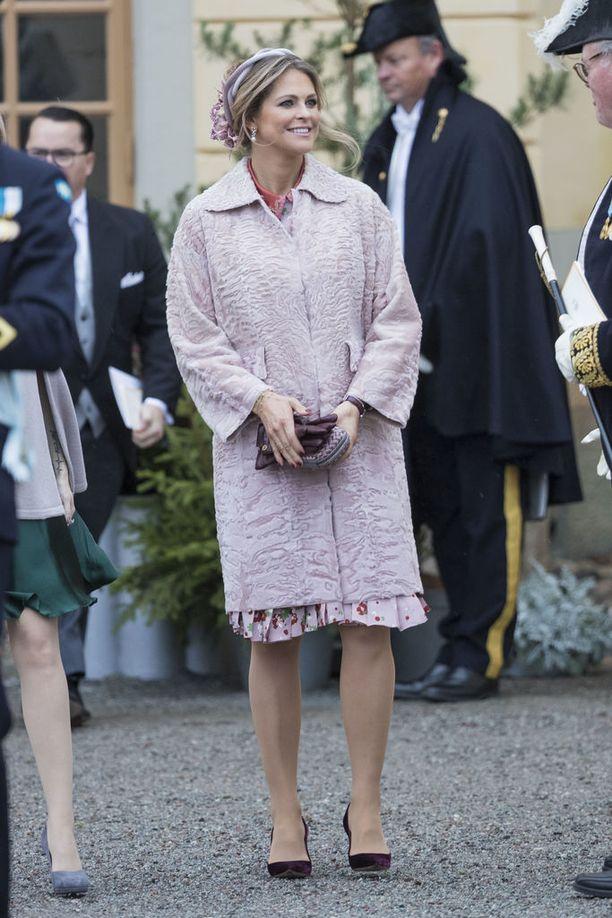 Madeleine on aina tyylitaitoinen pukeutuja.