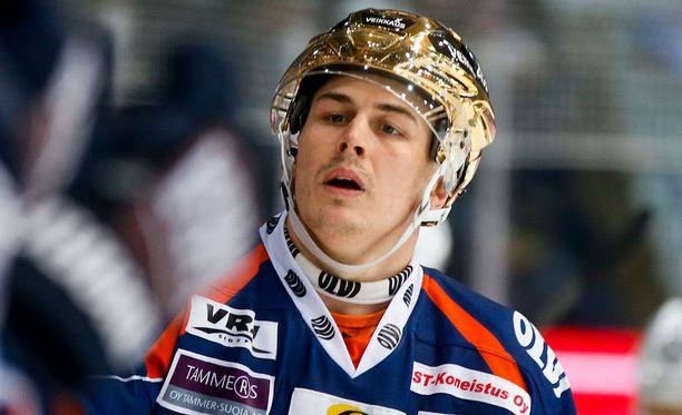 Kristian Kuusela iski Lukkoa vastaan tehot 1+2.