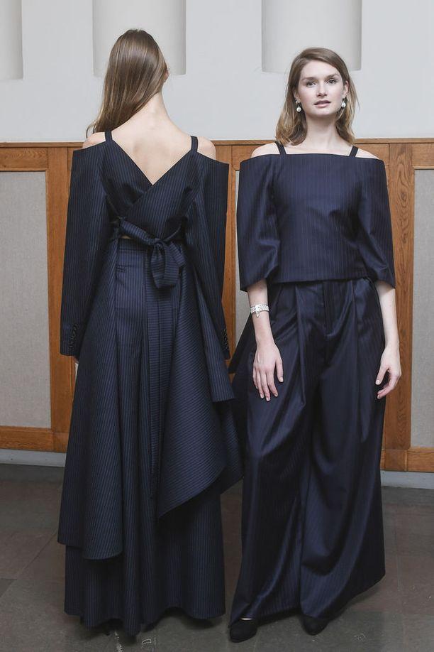 Vuoden nuori suunnittelija 2017 Heidi Karjalainen loi juhlavuoden kunniaksi modernin version kansallispuvusta - nähdäänkö se Linnassa?