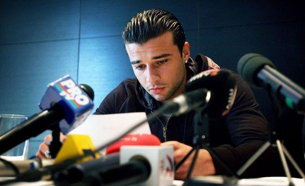 Alexei Eremenko on esiintynyt julkisuudessa muutenkin kuin pelkästään jalkapalloilullisten asioiden vuoksi. Kuva vuodelta 2005.