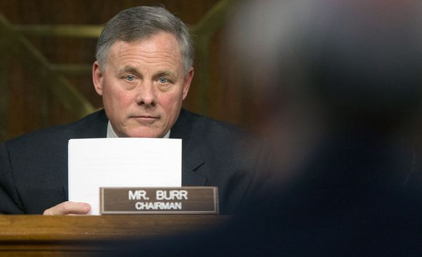 Senaattori Richard Burr.
