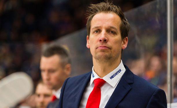 Törmänen toimi viime kaudella HIFK:n päävalmentajana.