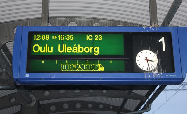 Tietoliikennevian jälkeenkin juna olivat tänään myöhässä jopa tunteja alkuperäisestä aikataulustaan.