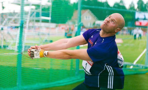 David Söderberg jäi 97 sentin päähän MM-kisarajasta.