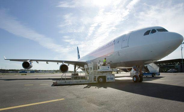 Finnairin alkuvuoden tappiot painuivat edellisvuotta huomattavasti enemmän pakkaselle.