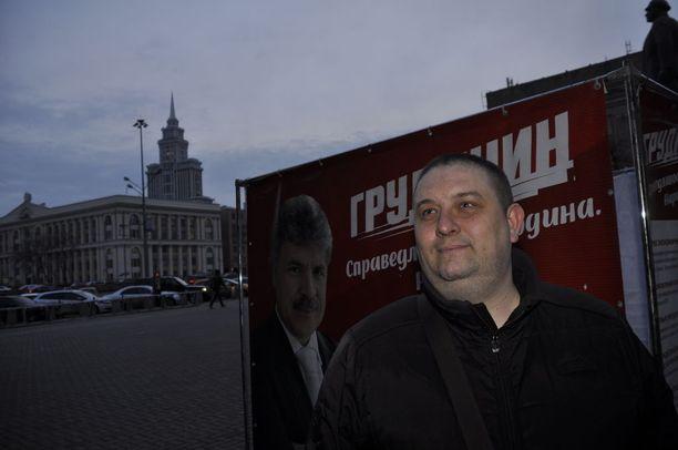 Denic Zernov kertoo äänestävänsä kommunisteja, koska Moskovan ulkopuolella ei käytännössä kenelläkään ole töitä.