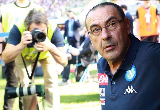 Maurizio Sarri siirtyy Englantiin.