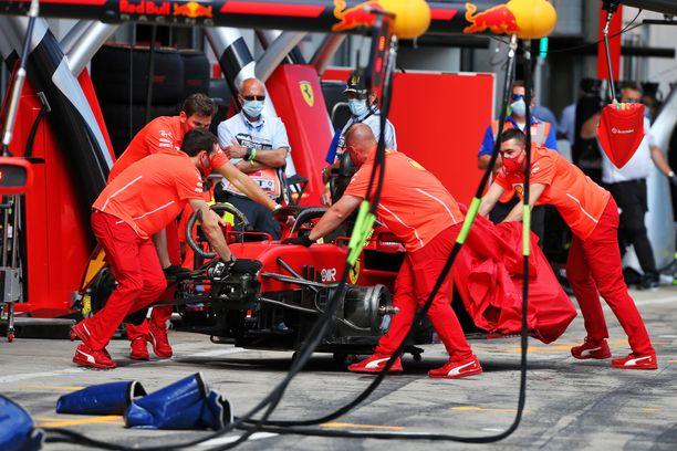 Ferrarin SF1000 on osoittautunut surkeaksi.