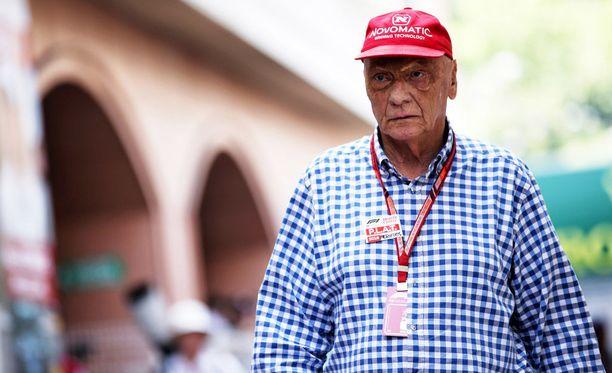 Niki Lauda on sairaalahoidossa.