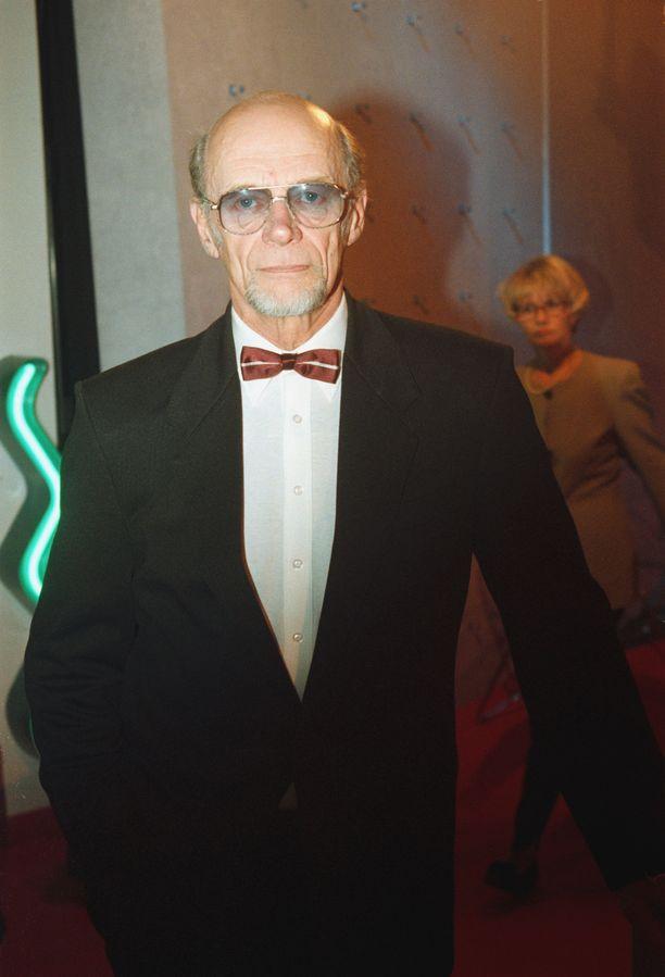 Spede Pasanen vuonna 1998. Hän kuoli kolme vuotta myöhemmin.