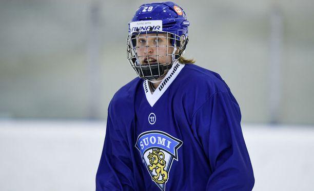 Ykkösvaraus on Leijonat-debytantti Patrik Laineen ainoa tavoite ensi kesän draftissa.