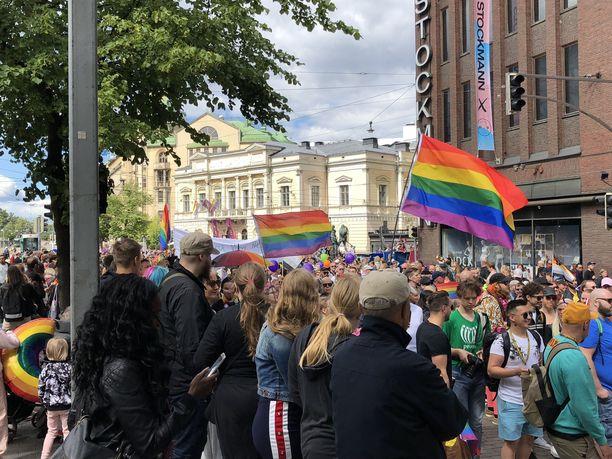 Viime vuonna Helsinki Pride keräsi 100 000 kävijää.