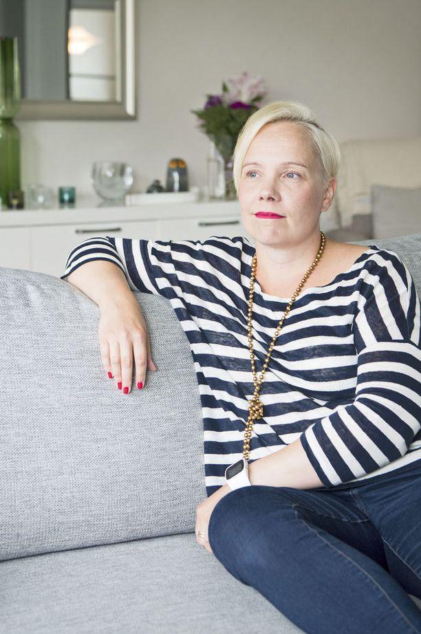 Marjo Heinonen on opetellut kuuntelemaan itseään, tunteitaan ja väsymystään.
