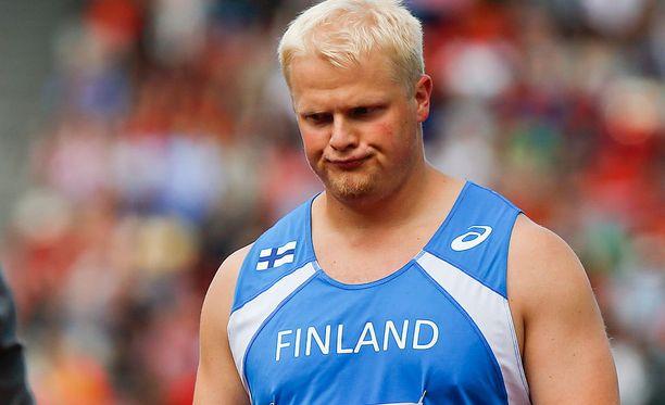 Tuomas Seppänen matkaa Pekingiin Suomen toisena moukarimiehenä.