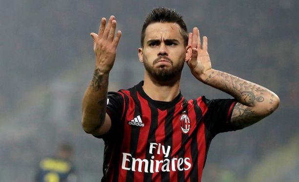 Liverpool-hylkiö Suso on löytänyt uuden nosteen uralleen Italiassa.