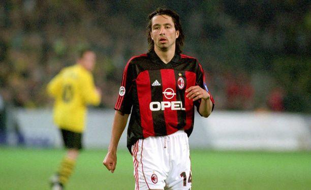 José Mari oli AC Milanin sopimuspelaaja 2000-2003.