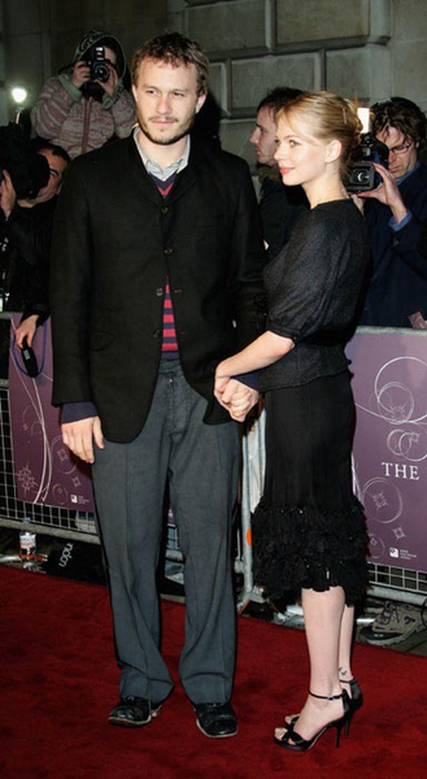 Michelle Williams ei saanut suostuteltua Heath Ledgeriä päihdeklinikalle hoitoon.