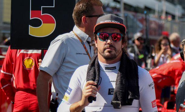 Fernando Alonso jatkaa McLarenilla ainakin ensi kauden.