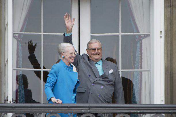 Kuningatar Margareetan ja prinssi Henrikin avioliitto kesti 50 vuotta.