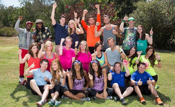 Amazing Racessa on tällä kaudella 11 joukkuetta.