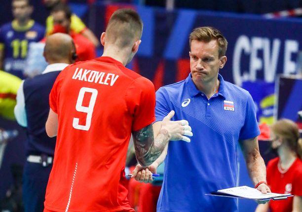 Tuomas Sammelvuo valmentaa Venäjää.