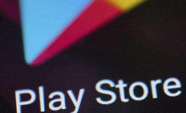 Googlen Play -kaupassa on lapsille suunnattuja sovelluksia, jotka eivät täytä ehtoja.