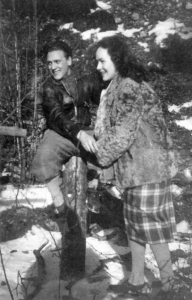 Törnin ja Kopsin kihlausaika Tukholmassa oli onnellista.