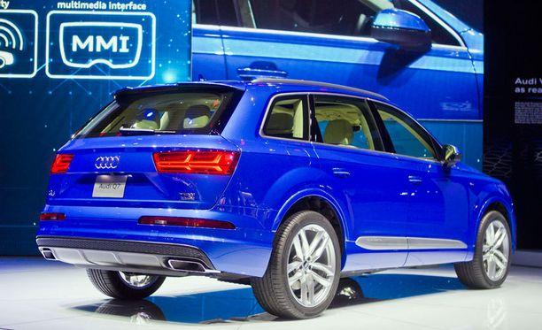 Audin takakulmassa on kulmikkuutta.