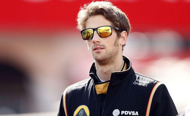 Romain Grosjean käyttää psykologin palveluita.