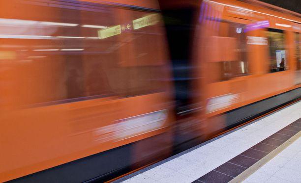Kuvituskuva metrosta.