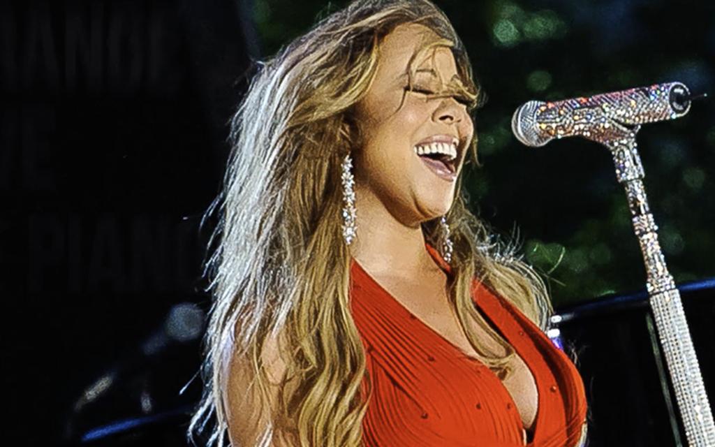 Mariah Carey lesbo porno