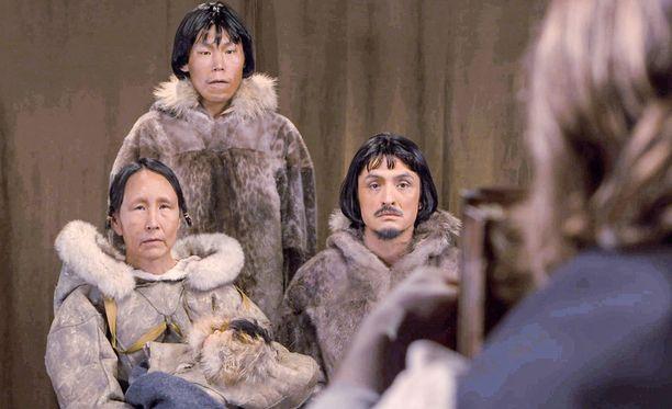 Abrahamin perheen lisäksi Labradorista lähti eläintarhaan myös toinen perhe ja yksi naimaton ja lapseton mies.