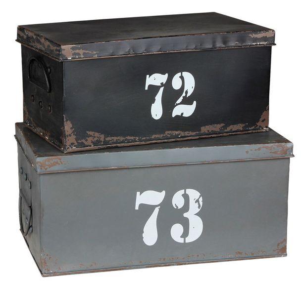 Hanki jokaiselle perheenjäsenelle laatikko omia tavaroita varten. Laatikot, alk. 33 e, Asko.